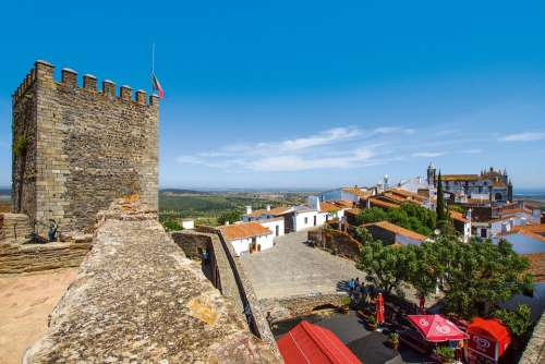 Monsaraz Alentejo Portugal View Vacations Europe
