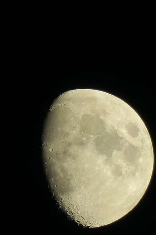 Moon Luna Ache Increasingly Earth'S Moon