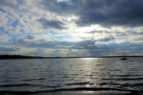 Müritz Goods Lake District Lake Water Mecklenburg