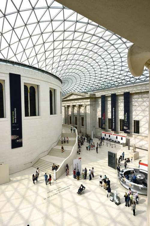 Museum Roof Architecture London Landmark History