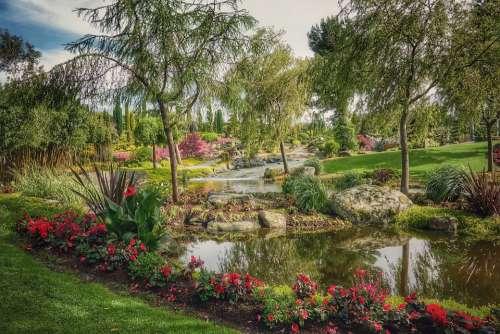 Nature Relaxation Landscape Rest Island Garden