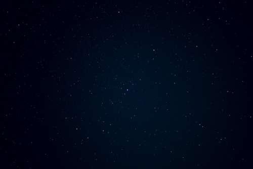 Night Sky Stars Dark Space Starry