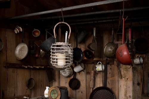 Old Retro Kitchen Vintage