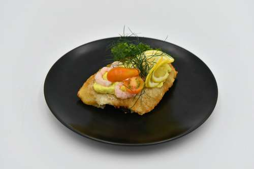 Open-Faced Sandwiches Food Dining Cooking