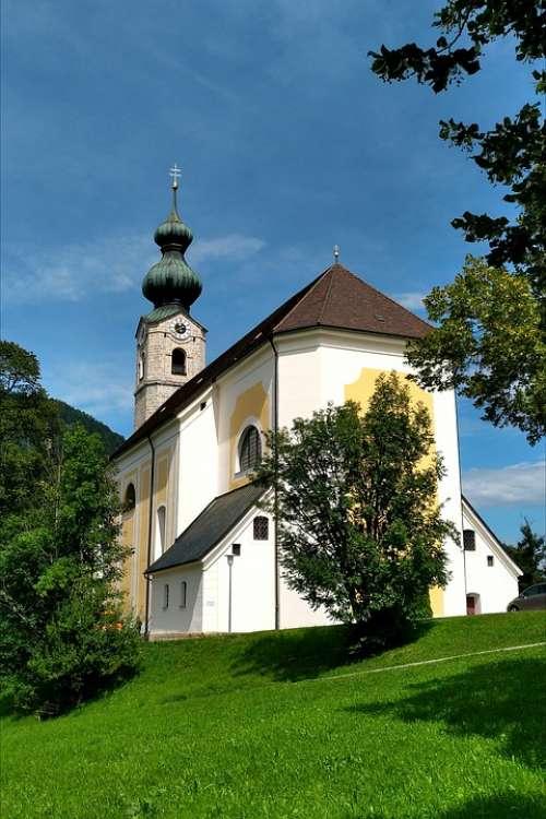 Parish Church St Georg Ruhpolding Upper Bavaria