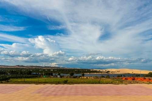 Phan Thiet White Lake Lake Sky Beautiful