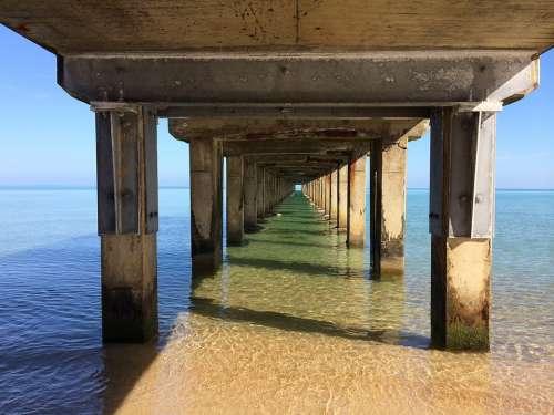 Pier Jetty Dock Nature Seaside Beach Water Sea