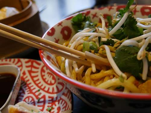 Restaurant Food Chinese Noodles Vegetarian Power