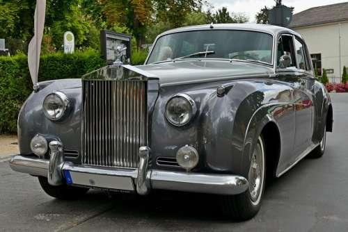 Rolls-Royce Oldtimer Limousine Auto Vehicle Retro