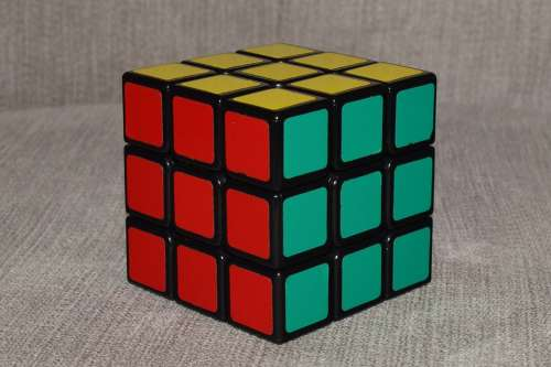 Rubik'S Cube Cube Rubik Jigsaw Puzzle Logical