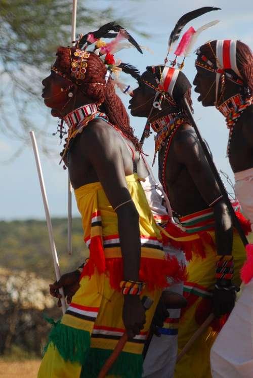 Samburu Tribe Kenya Moran Ceremony Africa Wedding