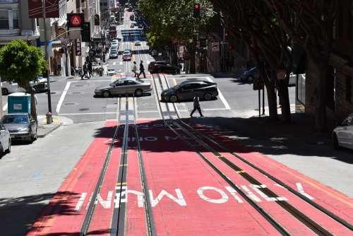 San Francisco Road Descent Rails Auto California