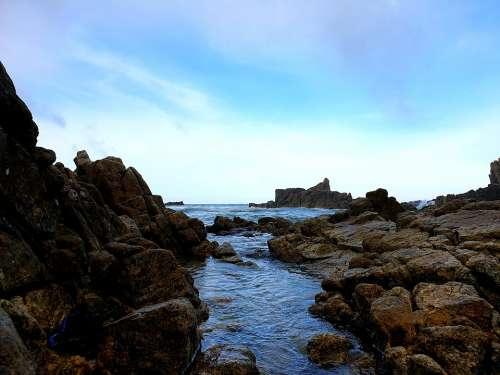 Sea Coastal Nature Water Summer Vacation