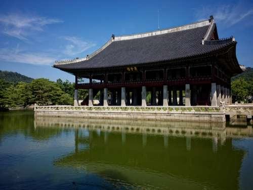 Seoul Korea South Korea Palace Korean Traditional