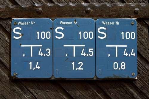 Shield Note Wood Blue Water Line