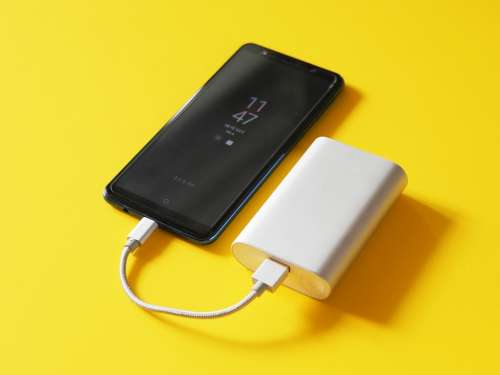 Smartphone Battery Charge Charger Cable Energy