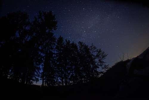 Star Sky Night Universe Starry Sky Galaxy Cosmos