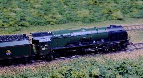 Steam Locomotive Steam Train N Gauge Railroad Model