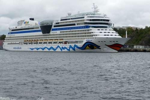 Stockholm Sweden Ship Cruise Cruise Ship Aida