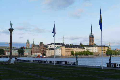 Stockholm Sweden City Town Home Ridder Holm