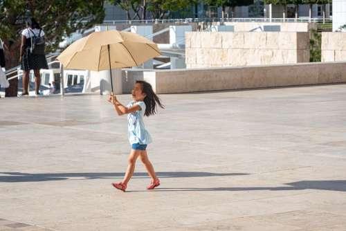 Sun Parasol Tourism Child Summer Travel