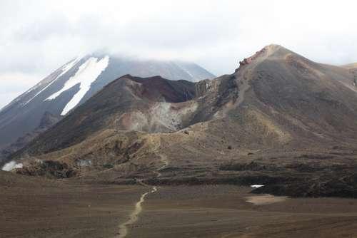 Tongariro New Zealand North Island Trail Volcano