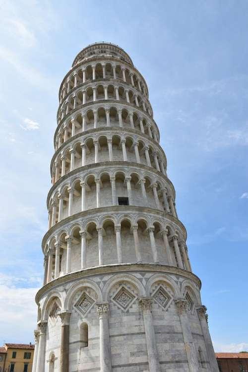 Torre Pisa Pendant Architecture Monument Tourism