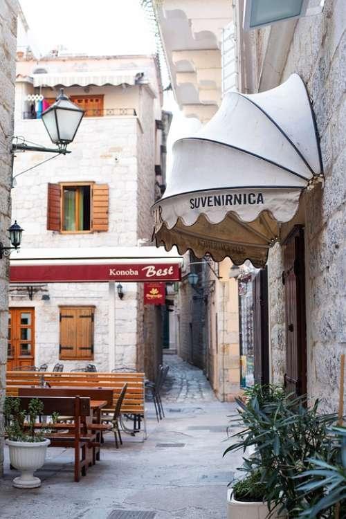 Travel Trogir Street Architecture Mediterranean