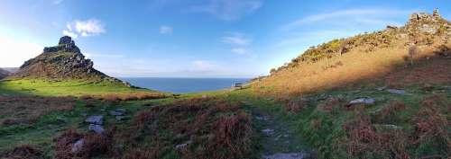 Valley Of The Rocks Devon Lynmouth