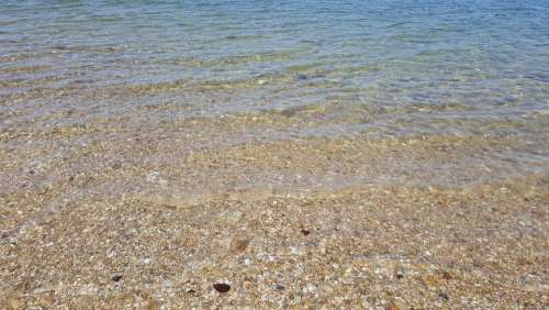 Water Stones River Beach Summer Sea Nature Coast
