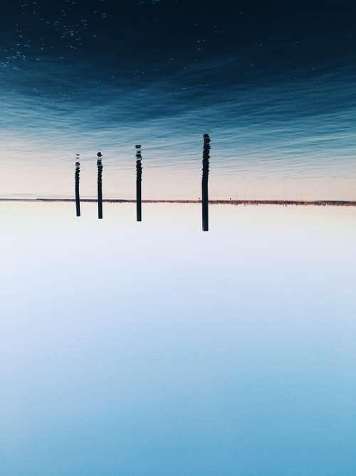 Water River Sky Landscape