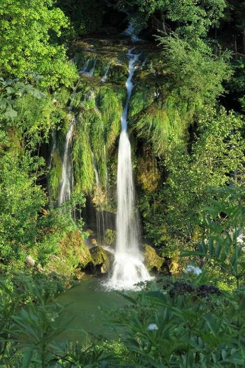 Waterfall Slunj Croatia