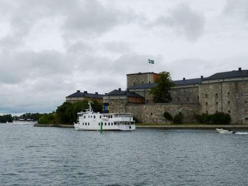 Waxholm Vaxholm Stockholm Sweden Fortress Castle