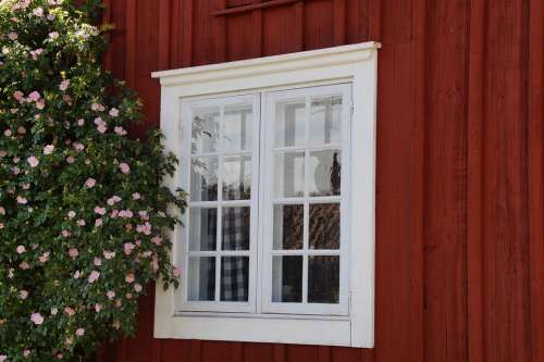 Window Friendly Sweden Woodhouse Facade Bloom