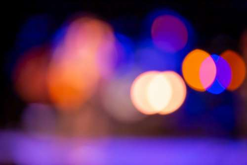 bokeh colorful lights wallpaper background
