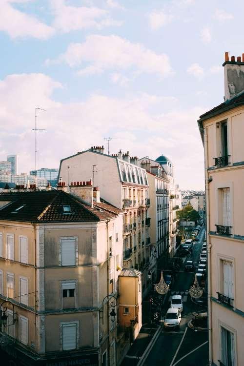 Busy Paris Street Photo