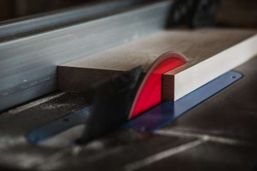 Circular Saw Blurs Photo