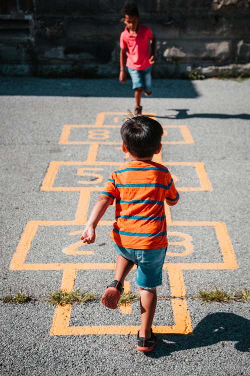 Hopscotch Game Photo