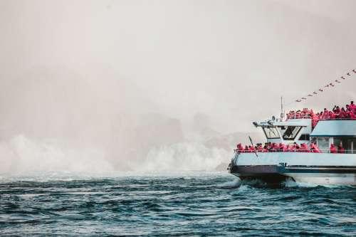 Misty Boat Trip Photo