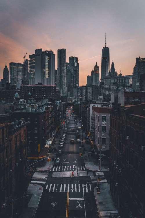 Quiet Dusky New York Photo