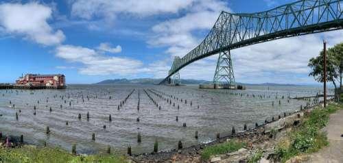 Astoria-Megler Bridge in Astoria, Oregon