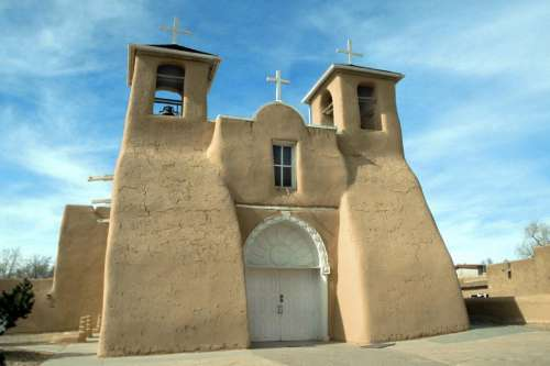 Ranchos de Taos Church in New Mexico