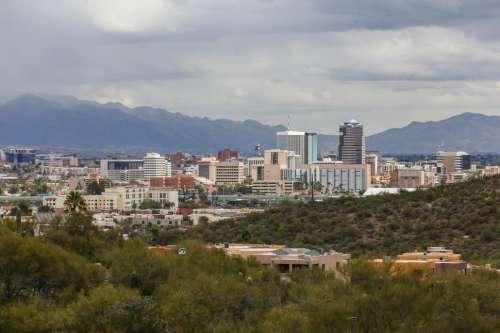 View of Tucson, Arizona