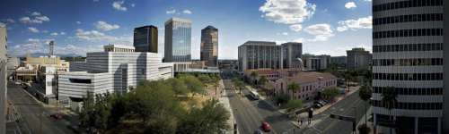 Downtown Tucson Panorama