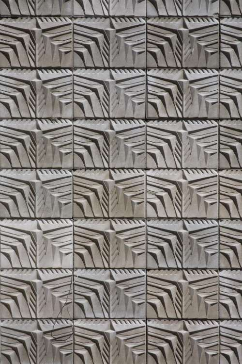 cast concrete pattern