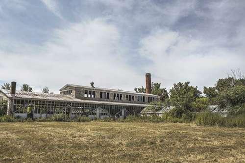 Abandoned Factory Free Photo