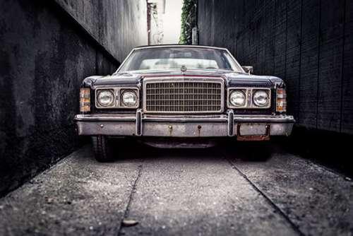 Gangster Car Free Photo