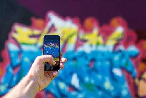 Photographing Graffiti Free Photo