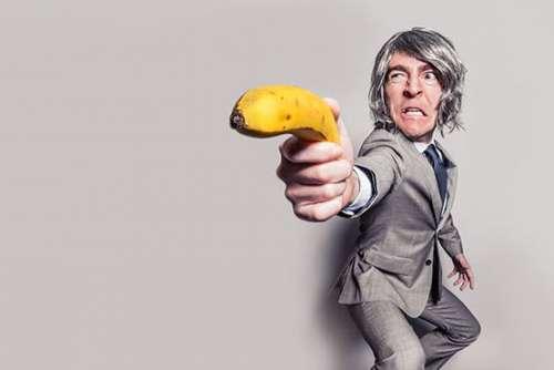 Banana Gun Free Photo
