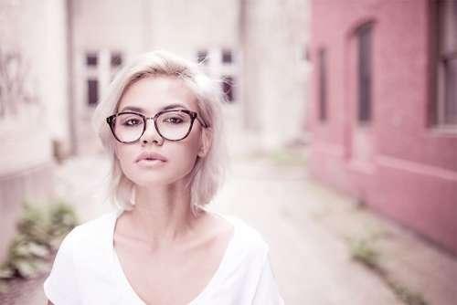 Blonde Woman & Glasses Free Photo